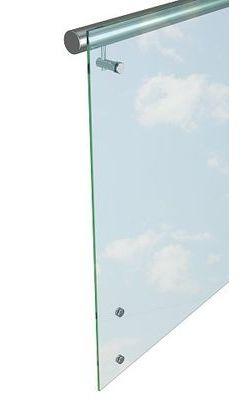 Перила со стеклом (исполнение 1)