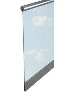 Перила со стеклом (исполнение 5)