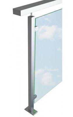 Перила со стеклом (исполнение 6)